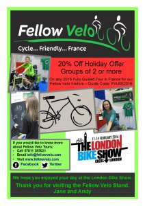 London Bike Show Thank You