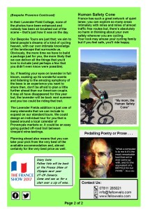 Newsletter August September 2016 Page 2