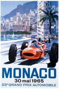 Monaco-Grand-Prix-1965-poster