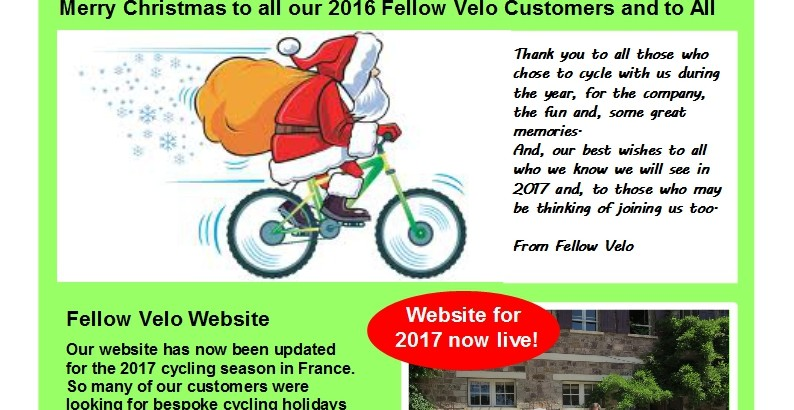 Newsletter Christmas 2016 (Page 1)