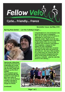 Newsletter Apr May 2018 Page 1