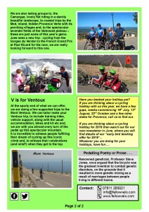 Newsletter Apr May 2018 Page 2