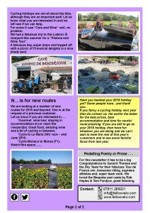 Newsletter  AUG SEPT 2018 Page 2