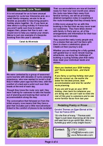 Newsletter  AUG SEPT 2019 Page 4 of 4
