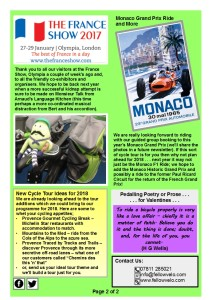 Newsletter Feb March 2017 Page 2