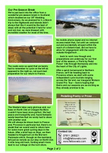 Newsletter April May 2017 (Page 2)