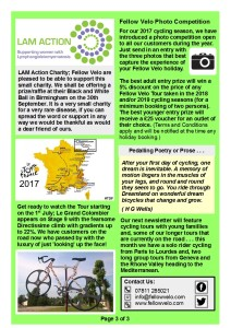 Newsletter June July 2017 Page 3