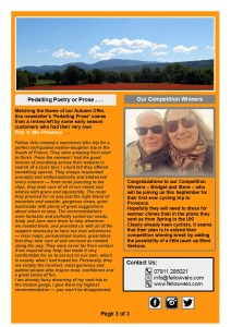 Newsletter June July 2019 Page 3 of 3