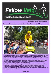 Newsletter AUG SEPT 2019 Page 1 of 4